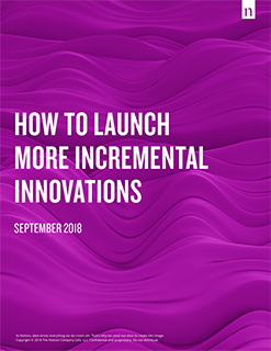 How to Launch More Incremental Innovations