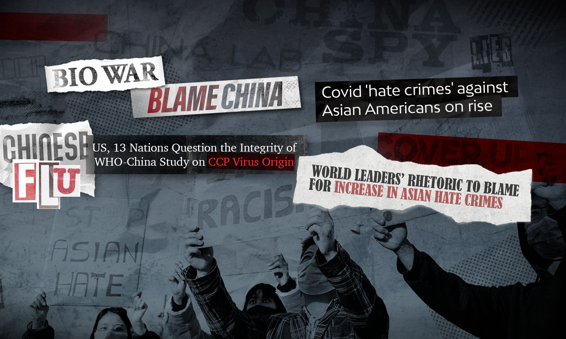 Negative headlines against China around COVID-19 are inspiring anti-Asian hate
